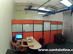 Latinas spy cam