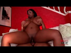 Fat black girl has hot hardcore sex