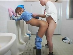 asian fuck in toilet 3