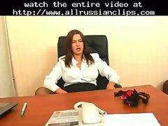 Sexy Russian Office Mature  russian cumshots swallow