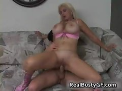 Ginormous tits milf pussy crushed