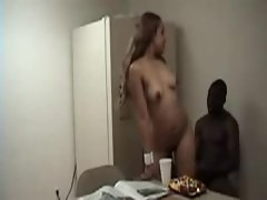 Black guy wants his GF to ride him