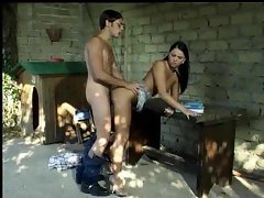 Shy dude nails a hot slut outdoors and loves it