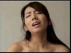 Horny lover fucks Japanese wife deep