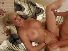 Big long cock fucking hot milf