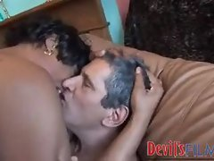 Hot white dick fucking the black slut
