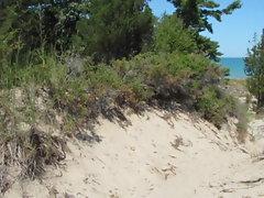 Nude in the dunes