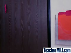 Sexy Busty Teachers And Students Fuck Hard movie-35