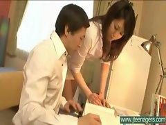 Asian Teen Japanese Girl Get Hard Sex clip-23