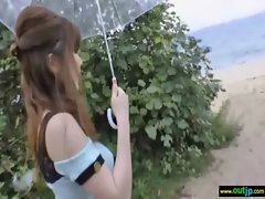 In Public Asians Girls Get Hard Sex clip-27