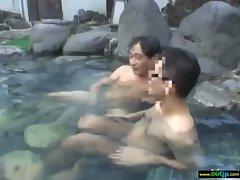 In Public Asians Girls Get Hard Sex clip-26
