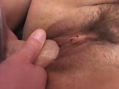 Mature BBW fat plumper bumps on cock