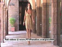 Shae tender lusty woman public flashing