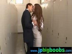Big Tits Janapese Girls Get Hard Sex clip-13