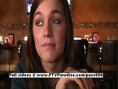 Hayley tender lovely woman talking