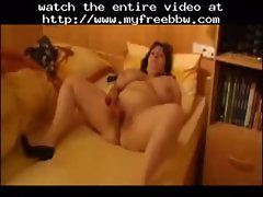 Bbw Wife And The Vibe  BBW fat bbbw sbbw bbws bbw porn plumper fluffy cumshots cumshot chubby