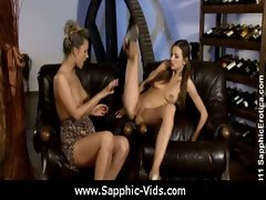 Sapphic Erotica - Pretty Lesbians Doing It Right 14