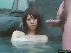 Outdoor Sexy Japanese Get Hard Sex movie-29