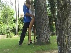 Russian Girl Fucked Public