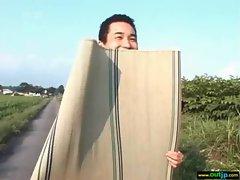 Outdoor Sexy Japanese Get Hard Sex movie-05