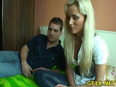And then after giving nice handjob
