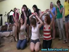 Real amateur teens stripped