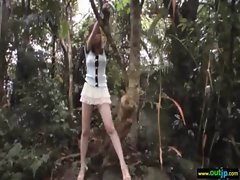 Outdoor Sexy Japanese Get Hard Sex movie-35