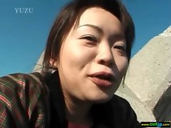 Outdoor Sexy Japanese Get Hard Sex movie-12
