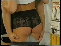 The legandary Sylvia Saint seducing a boxer