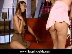 Sapphic Erotica - Pretty Lesbians Doing It Right 30