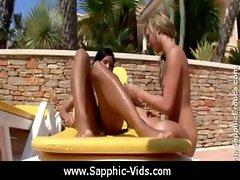 Sapphic Erotica - Pretty Lesbians Doing It Right 04