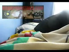 black hood ghetto Bony Vixen Dry Humping And Fingering Herself