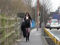 Emmas big beautiful woman masturbation in public and plump amateur wanking outdoors