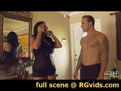 RGvids.com presents: Kiara Mia is Dressed to Spill Some Semen!