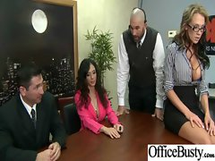 In Office Nymphos Slutty chicks Get Nailed Horny video-16