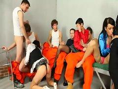 Mmf bi jailbirds get hard pricks