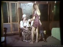 Carol Connors In Vintage Shower Lesbo Performance lez chick on cutie lezzies