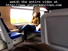 Masturbating In German Train german ggg spritzen goo randy chicks
