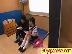 Seductive japanese Girlie In School Uniform Get Sex vid-02