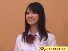 Sensual japanese Young lady In School Uniform Get Sex vid-24