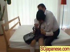 Sensual japanese Lass In School Uniform Get Sex vid-29