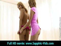 randy 18yo Lez Randy chicks Love Oral Sex - Sapphic Erotica 23