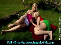 raunchy 18 years old Butch Slutty chicks Luxuriate Oral Sex - Sapphic Erotica 32