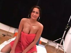 Sylva shocking handjob