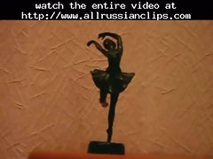 Naked Ballerina Training (nice Feet) sensual russian cumshots swallow