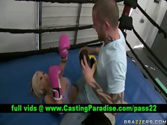 Brittney Skye light-haired gets snatch caressed
