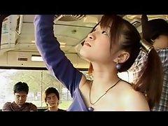 Cosplay Molester Bus Risa Haneno