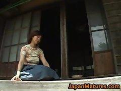 Chisato Shouda Amazing aged Jap