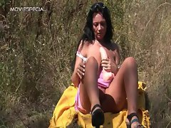 Sensual Mommy gets banged wild outdoor free