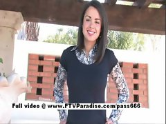 Paige perfect chesty dark haired girlie public flashing